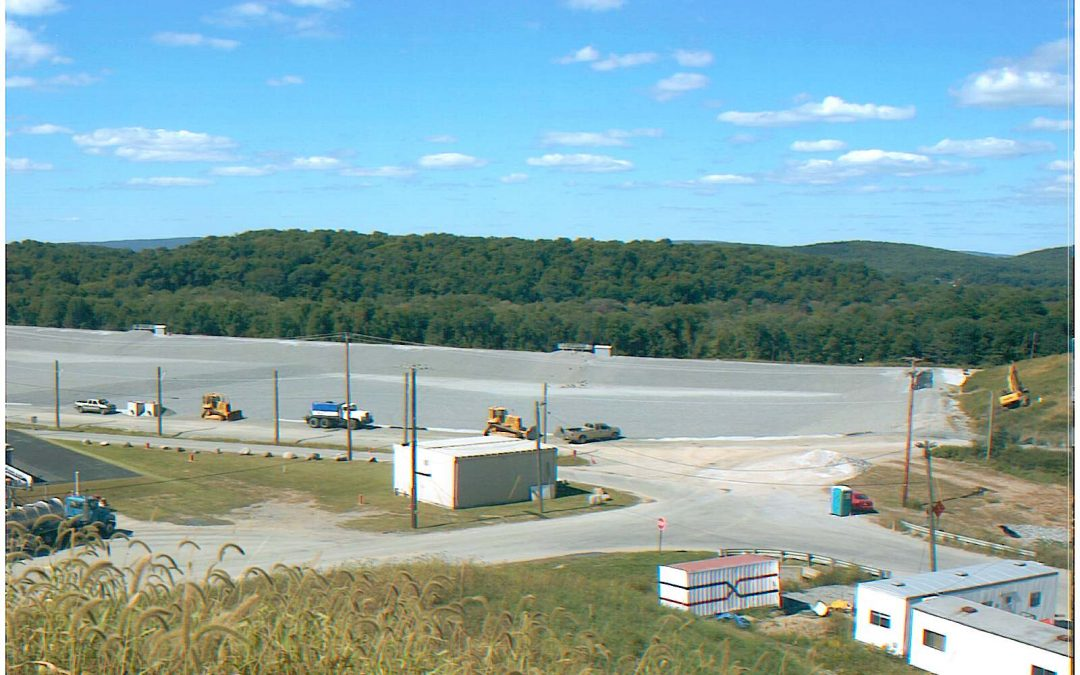 Sussex County MUA  –  Temporary Landfill Capping Phases 2A, 2B & 3A  –  Contract 445  Lafayette, Sussex County, New Jersey